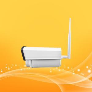 China HD Cctv IP Bullet Security Camera , IP IR Bullet Camera H.264 Dual Stream Video Output on sale