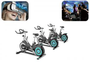 China Indoor Entertainment Sports Virtual Bike Ride VR Headset Fitness Reality Exercise Bike on sale