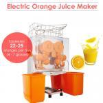 Presse-fruits orange industriel à haute production de citron de machine de presse-fruits avec l'enlèvement automatique de pulpe