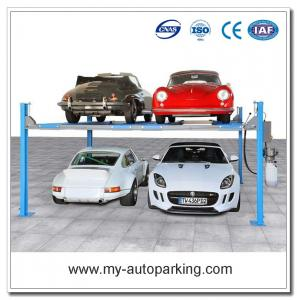 On Sale! 4 Post Car Lifts Four Post Parking Lift Vertical