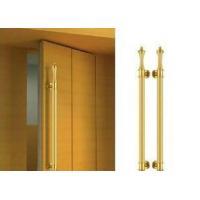 H Type Stainless Steel Entry Door Handles Simple Decorative Glass Door Knobs