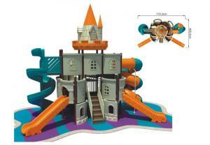 China Recreation Equipment Toddlers Slide LLDEP Plastic Children Castle Playground on sale