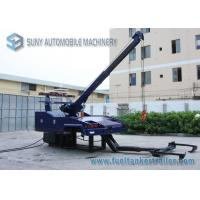 IND 10 Medium Duty Wrecker Towing Truck 9 Ton Boom 6 Ton Wheel Llift