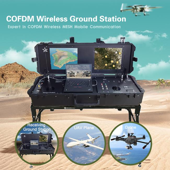 Long Range UAV Ground Control Station GCS video data link