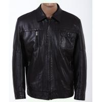 China Quality Black Knitting and Viscose, Luxury, Stylish and Designer Leather Jackets for Men on sale