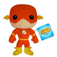 Red Kids Cartoon Plush Toys Justice League Flash Action Figure