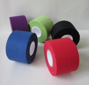 China Zinc Oxide Tear Cotton Sports Non Stretch Athletic Tape on sale