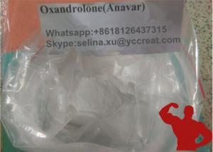 Quality El levantamiento de pesas crudo de los polvos Oxandrolone/Anavar del crecimiento del músculo complementa CAS 53-39-4 for sale