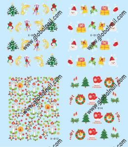 China Nail Art Sticker (X013-X012) on sale