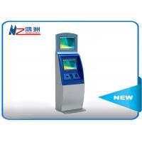China Floor standing ticket vending machine with cash payment all in one kiosk on sale
