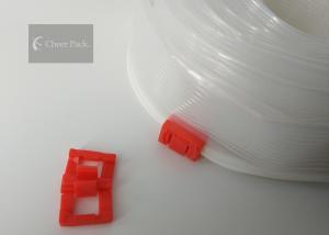 China PP Material Plastic Ziplock Zipper Silider For Pencil Case , Ziploc Easy Zipper on sale