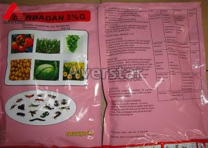 China Low Residue Agricultural Insecticides Carbofuran 3% G / 5% G Organic Chlorine Insecticides on sale