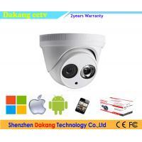 China 1MP 720P IR Array Led IP Dome camera,ONVIF indoor Security IP camera on sale