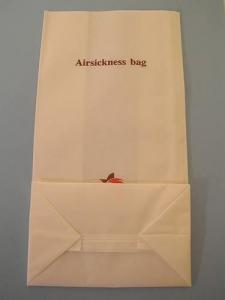 China Airline Sickness bag on sale
