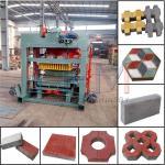 QTJ4-25B Full automatic molding Brick Machine made in Henan China