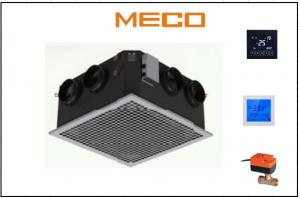 China Higher Efficiency Electric Fan Coil Unit , Ceiling Mounted Fan Coil Unit 1750CFM on sale