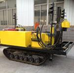 Static cone penetration test machine, cone penetration test crawler-truck