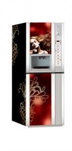 China cappuccino, mocha, latte, hot milk, hot chocolate, 3 in 1 coffee veding machine F-306GX on sale