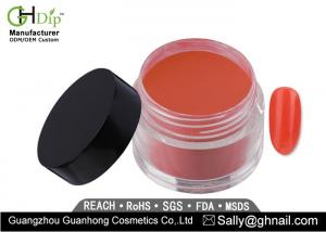 China Custom Made Red and Pink Color 2 Oz Gel Dip Powder For Nail Easy Quick Dipping on sale