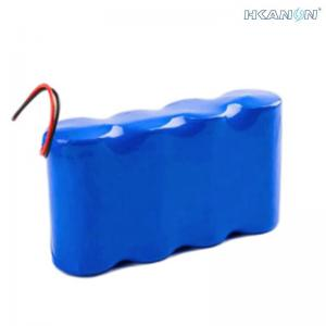 China 12V Rechargeable Lithium Battery Pack , Small UPS Backup Over Charge Protection on sale