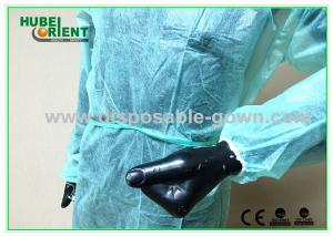 China Non Sterilized Soft Disposable Scrub Jackets Nonwoven Environmentally Friendly on sale