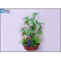 China 25 - 40 cm Colorful Bonsai Flower Plant , Bonsai Tree Plant Plastic Flowers on sale