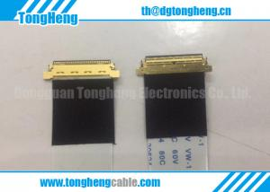 China 30P/40P I-pex Connector Terminated Laminated FFC Cable on sale