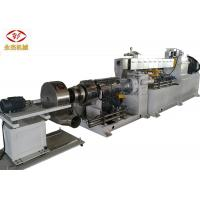 Automatic Extruder PVC Machine , Twin Screw Compounding Extruder SISMENS Motor