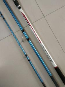 China 4.20m 3 section Surf casting Carbon Fishing rods,Trabucco  surf casting rods,carbon fishing rods on sale