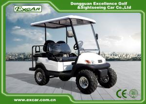 China EXCAR 48V 2 Seater Electric Hunting Golf Carts Intelligent Onboard Charger on sale