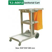 China Hotel Housekeeping Heavy Duty Cleaning Janitorial Cart on sale