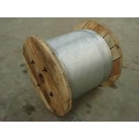 China galvanized steel wire as acsr core on sale