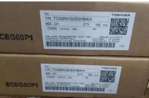 China TC58NVG0S3HBAI4 Flash Memory Chip , IC Flash Storage Chip 1G PARALLEL 63TFBGA on sale