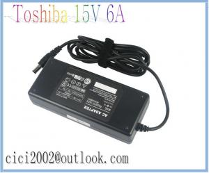 China Toshiba 15V 6A 90W laptop adapter/ notebook ac adapter / power adapter/ universal adapter on sale