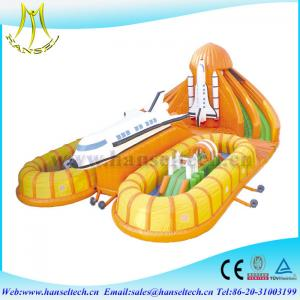 China Hansel good sale newest inflatable castle fun city  for commercial on sale