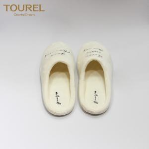 China Personalized design Luxury 5 Star Hotel Slippers Exquisite Hotel Slippers supplier