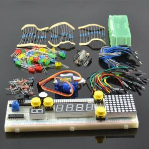 China Enthusiasts Starter Kit for Arduino with 830 Breadboard and Mini Sevor Diy Learning parts on sale