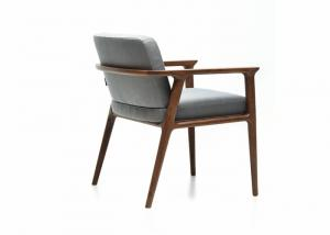China Homel Dining Room Furniture With Solid Wood Frame / Wooden Armrest Chair on sale
