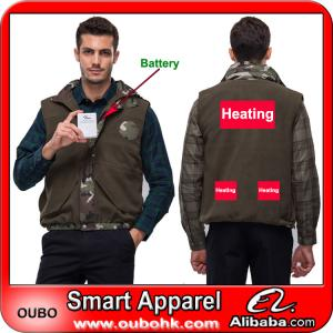 China Winter Vest With High-Tech Electric Heating System Battery Heated Clothing Warm OUBOHK on sale