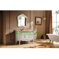 China bathroom cabinet best selling product import home depot wood antique waterproof bathroom cabinet on sale