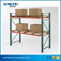High quality customized steel teardrop pallet rack uprights