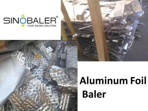 Quality Aluminum Foil Baler for sale