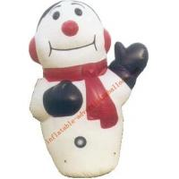 7m Hot-selling Giant Inflatable Human Snow For Christmas Promotion