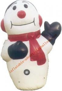 China 7m Hot-selling Giant Inflatable Human Snow For Christmas Promotion on sale