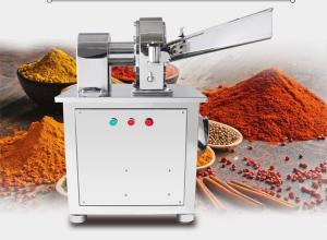 China stainless steel grain powder fineness grinding machine spices condiment making machine on sale