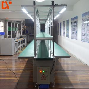 China 750W Conveyor Production Line With Working Tables / Industrial Conveyor Belt Systems on sale