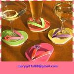 Hot sale custom high quality drink pvc coaster