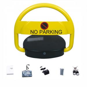 China Waterproof Car Parking Lock Automatic Solar Panel Power Steel Rolling Frame Material on sale