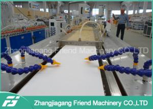 China Customized Voltage PVC Ceiling Panel Extrusion Line Low Power Consumption on sale