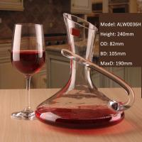 China Alymayca Creative Beverage Liquor Alcoholic Drink Carafe Crystal Red Wine Decanter on sale